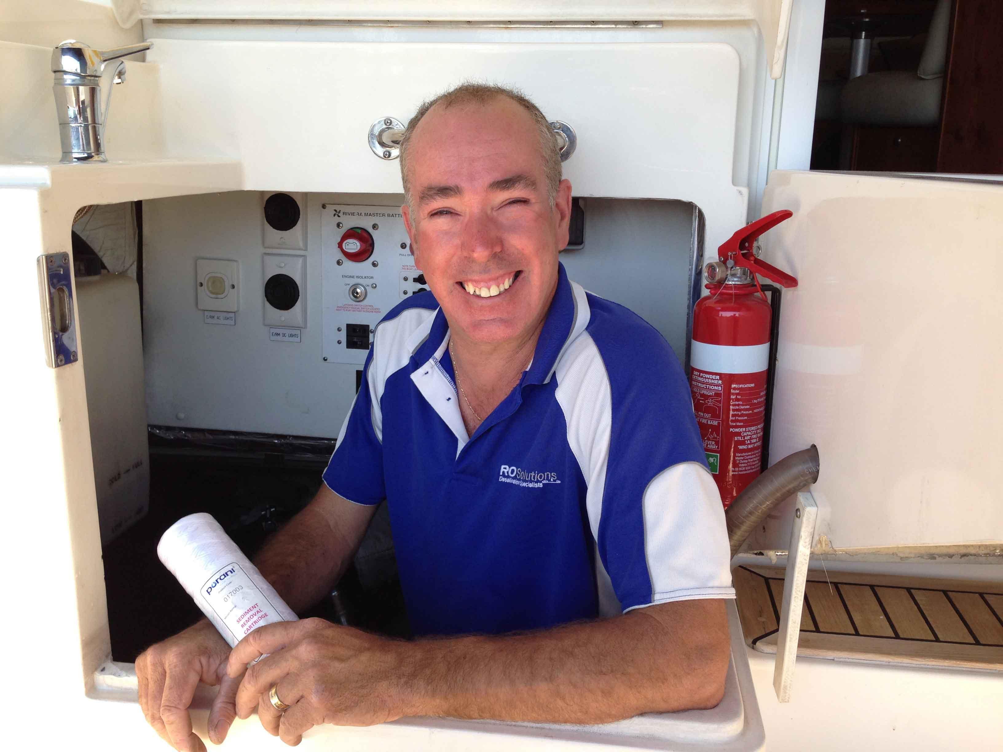 Water desalination guru Richard Hansen